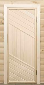 Дверь с навесами (липа)